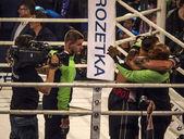 Boxer Aleksandr Usyk örül győzelem