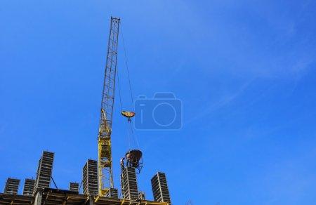 Photo pour Production de structures monolithiques en construction - image libre de droit