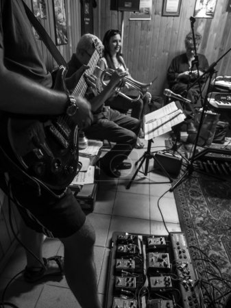 Jazz rehearses