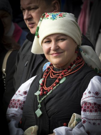 Ukrainian believers celebrate Protection of the Holy Virgin in t