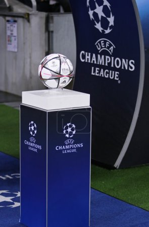 UEFA Champions League game FC Dynamo Kyiv vs Manchester City in