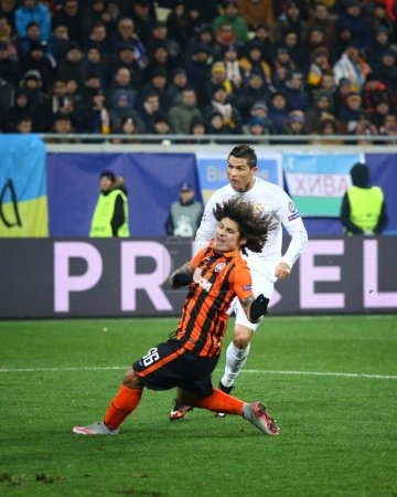 UEFA Champions League game Shakhtar