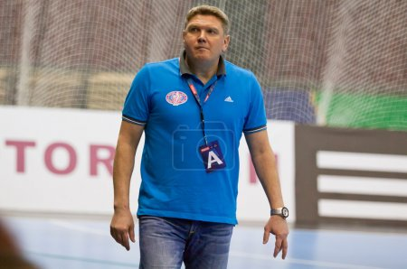 Sergiy Bebeshko - head coach of Motor handball team