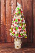 Ručně vyráběné vánoční strom
