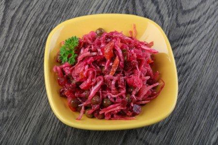 Viniagrette russian salad