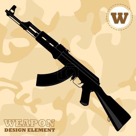 automatic machine AK-47 Kalashnikov