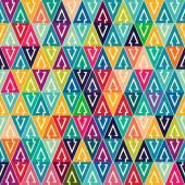 Geometric Pattern with arrows