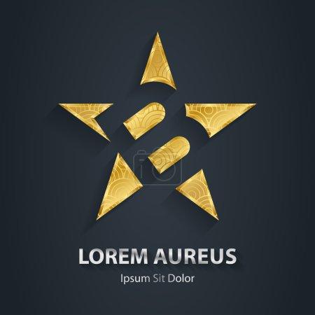 Letter B star logo