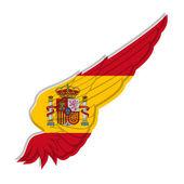 Křídlo s příznakem Španělsko