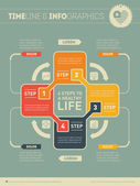 Healthy life infographic  concept