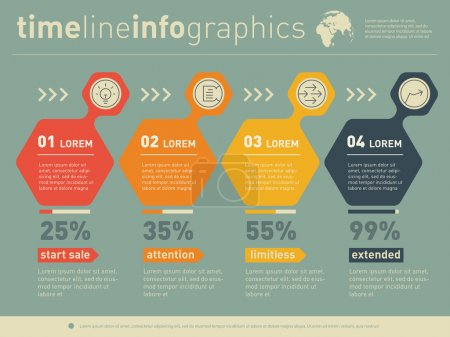 Sales, advertising, shopping infographics