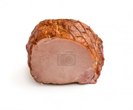 Ham food isolated