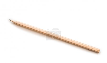 Photo for Close-up image of pencil on white - Royalty Free Image