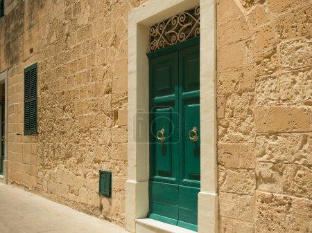 Silent street in Mdina. Malta