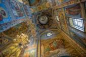 """Постер, картина, фотообои """"интерьер спасителя на пролитом соборе крови в Св. petersb"""""""