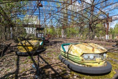 Amusement park in Pripyat, Chernobyl