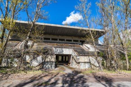 Stadium in Pripyat, Chernobyl
