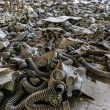 Постер, плакат: Gas masks in Pripyat Chernobyl