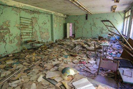 School in Chernobyl, Ukraine
