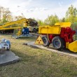 Постер, плакат: Cemetery of robots in Chernobyl