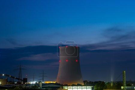 Huge  Power station
