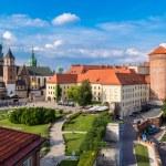 Wawel cathedral on Wawel Hill in Krakow, Poland...