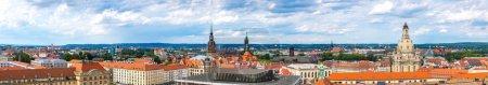 vue panoramique de Dresde