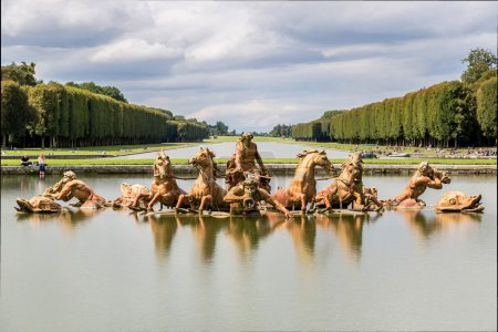 Fountain of Apollo in Versailles