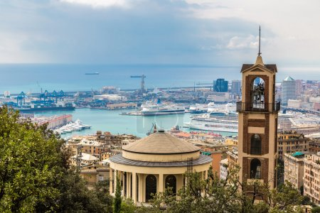 Port of Genoa in Italy