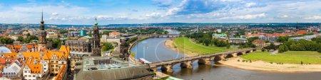 Dresde et la rivière Elbe