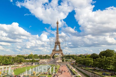 Photo for Eiffel Tower is the most visited monument in France and famous symbol of Paris - Royalty Free Image