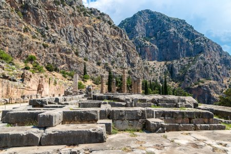 Temple of Apollo in Delphi