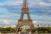 "Постер, картина, фотообои ""Эйфелева башня в Париже"""
