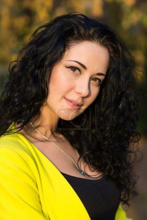 Young Smiling Beautiful Woman