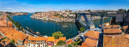 Panorama of Porto in Portugal
