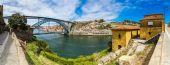 "Постер, картина, фотообои ""Панорама из Порто в Португалии"""