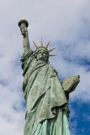 Statue of liberty in summer day
