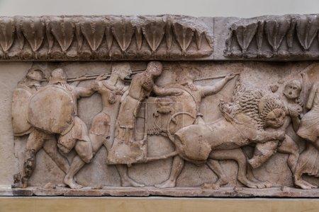Ancient greek ornament in Delphi