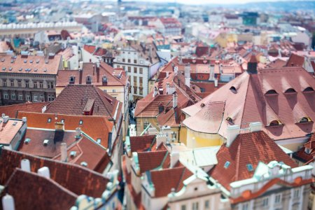 Prague - Tilt shift lens.