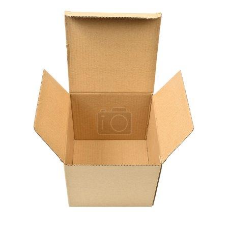 cardboard  box isolated