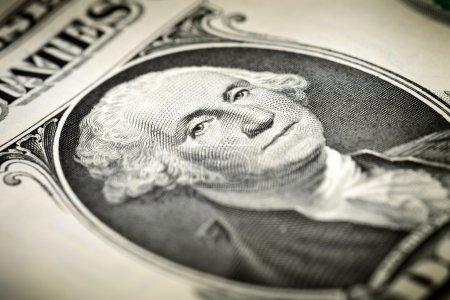 Washington  on a dollar bill