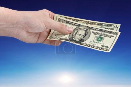 Money from sky