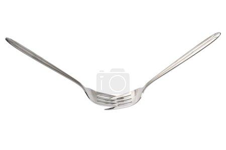 Two forks interlock