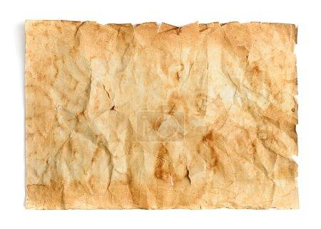Retro aged grunge paper