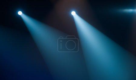 Photo pour Feu d'éclairage de concert - image libre de droit