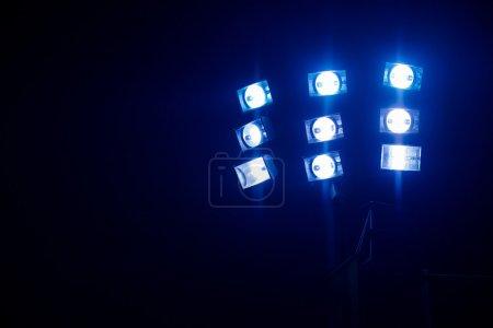 spotlight and floodlight