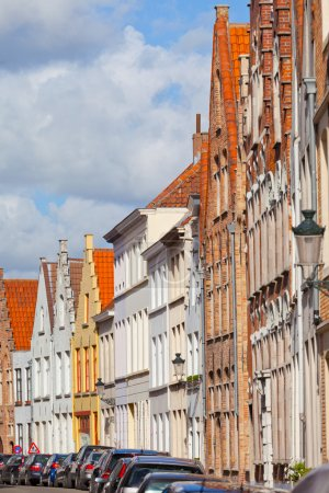 Bruges Medieval houses