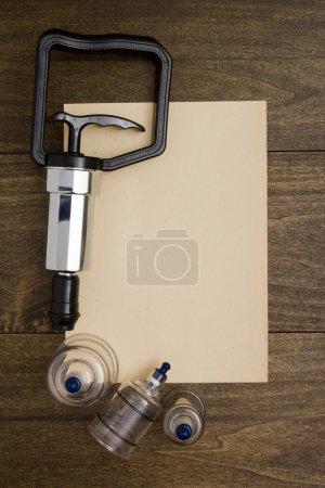 Tools for vacuum massage