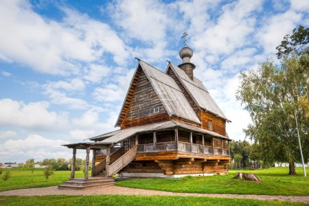 Suzdal. Church of St. Nicholas from the village of Glotovo, Yuri