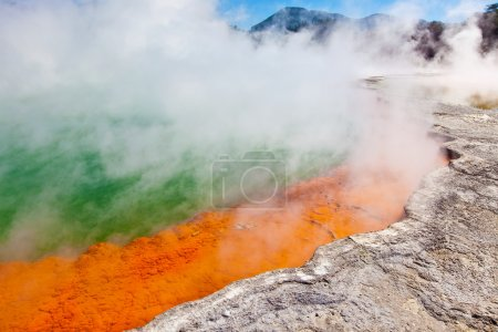 champagne pool in new zealand